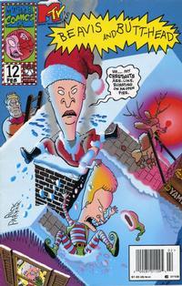 Cover for Beavis & Butt-Head (Marvel, 1994 series) #12