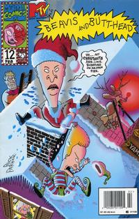 Cover Thumbnail for Beavis & Butt-Head (Marvel, 1994 series) #12