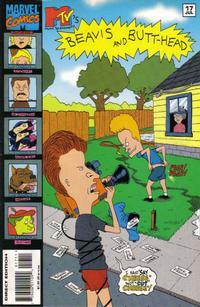 Cover Thumbnail for Beavis & Butt-Head (Marvel, 1994 series) #17