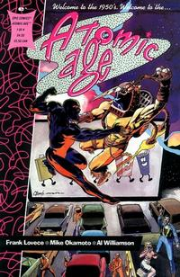 Cover for Atomic Age (Marvel, 1990 series) #1