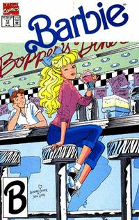 Cover Thumbnail for Barbie (Marvel, 1991 series) #13