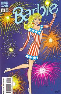 Cover Thumbnail for Barbie (Marvel, 1991 series) #45