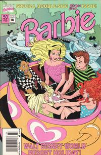 Cover Thumbnail for Barbie (Marvel, 1991 series) #50