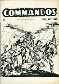 Cover Thumbnail for Commandos [ashcan] (DC, 1942 series) #1