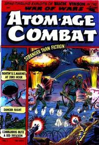 Cover Thumbnail for Atom-Age Combat (St. John, 1952 series) #1