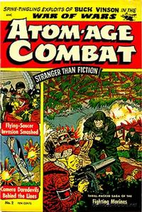 Cover Thumbnail for Atom-Age Combat (St. John, 1952 series) #2