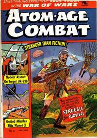 Cover Thumbnail for Atom-Age Combat (St. John, 1952 series) #3