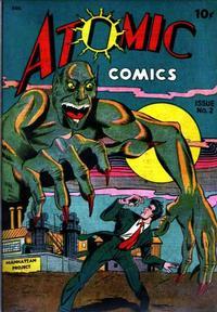 Cover Thumbnail for Atomic Comics (Green Publishing, 1946 series) #2
