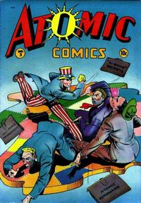 Cover Thumbnail for Atomic Comics (Green Publishing, 1946 series) #3