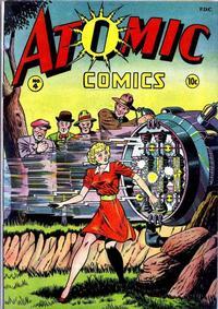 Cover Thumbnail for Atomic Comics (Green Publishing, 1946 series) #4