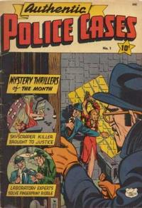 Cover Thumbnail for Authentic Police Cases (St. John, 1948 series) #1