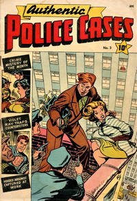 Cover Thumbnail for Authentic Police Cases (St. John, 1948 series) #3