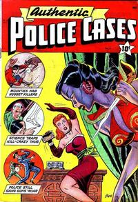 Cover Thumbnail for Authentic Police Cases (St. John, 1948 series) #4