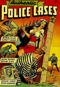 Cover Thumbnail for Authentic Police Cases (St. John, 1948 series) #5