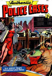 Cover Thumbnail for Authentic Police Cases (St. John, 1948 series) #9