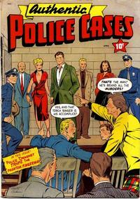 Cover Thumbnail for Authentic Police Cases (St. John, 1948 series) #12
