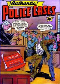 Cover Thumbnail for Authentic Police Cases (St. John, 1948 series) #13