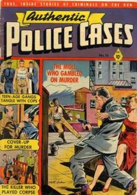 Cover Thumbnail for Authentic Police Cases (St. John, 1948 series) #16