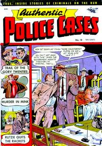 Cover Thumbnail for Authentic Police Cases (St. John, 1948 series) #18