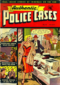 Cover Thumbnail for Authentic Police Cases (St. John, 1948 series) #19