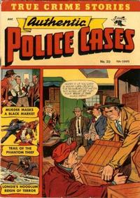 Cover Thumbnail for Authentic Police Cases (St. John, 1948 series) #20