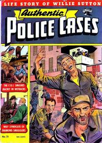 Cover Thumbnail for Authentic Police Cases (St. John, 1948 series) #21