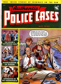 Cover Thumbnail for Authentic Police Cases (St. John, 1948 series) #22