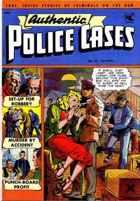 Cover Thumbnail for Authentic Police Cases (St. John, 1948 series) #23
