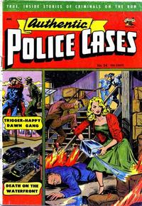 Cover Thumbnail for Authentic Police Cases (St. John, 1948 series) #24