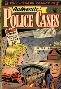Cover Thumbnail for Authentic Police Cases (St. John, 1948 series) #25