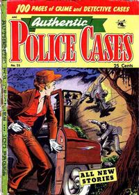 Cover Thumbnail for Authentic Police Cases (St. John, 1948 series) #28