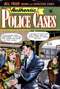Cover Thumbnail for Authentic Police Cases (St. John, 1948 series) #29
