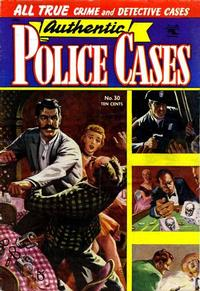 Cover Thumbnail for Authentic Police Cases (St. John, 1948 series) #30