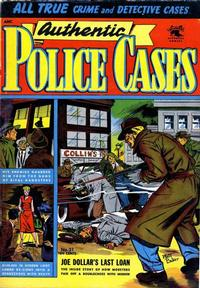 Cover Thumbnail for Authentic Police Cases (St. John, 1948 series) #31