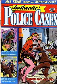 Cover Thumbnail for Authentic Police Cases (St. John, 1948 series) #33