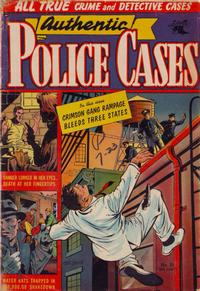 Cover Thumbnail for Authentic Police Cases (St. John, 1948 series) #35