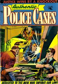 Cover Thumbnail for Authentic Police Cases (St. John, 1948 series) #36