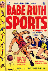 Cover Thumbnail for Babe Ruth Sports Comics (Harvey, 1949 series) #1