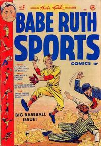 Cover Thumbnail for Babe Ruth Sports Comics (Harvey, 1949 series) #2