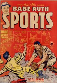 Cover Thumbnail for Babe Ruth Sports Comics (Harvey, 1949 series) #8
