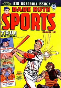 Cover Thumbnail for Babe Ruth Sports Comics (Harvey, 1949 series) #9