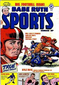 Cover Thumbnail for Babe Ruth Sports Comics (Harvey, 1949 series) #10