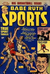 Cover Thumbnail for Babe Ruth Sports Comics (Harvey, 1949 series) #11
