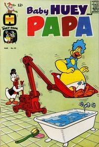 Cover Thumbnail for Baby Huey and Papa (Harvey, 1962 series) #22