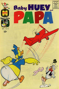 Cover Thumbnail for Baby Huey and Papa (Harvey, 1962 series) #25