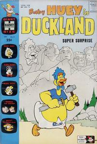 Cover for Baby Huey in Duckland (Harvey, 1962 series) #2