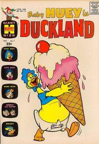Cover Thumbnail for Baby Huey in Duckland (Harvey, 1962 series) #7