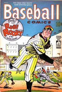 Cover Thumbnail for Baseball Comics (Will Eisner, 1949 series) #1