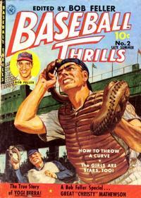 Cover Thumbnail for Baseball Thrills (Ziff-Davis, 1951 series) #2 [11]