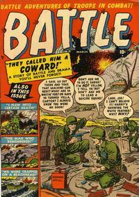 Cover Thumbnail for Battle (Marvel, 1951 series) #1